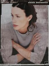 "ALANIS MORISSETTE ""SUPPOSED INFATUATION JUNKIE"" U.S. PROMO POSTER - Crossed Arms"