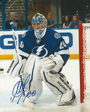EVGENI NABOKOV signed TAMPA BAY LIGHTNING 8X10 PHOTO COA