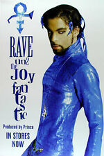 Prince **SUPER RARE** Rave Un2 the Joy Fantastic Promotional Poster 1999 Promo