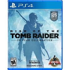 Rise of the Tomb Raider: 20 Year Celebration Digibook Edition - PlayStation 4