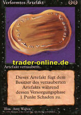 Verformtes Artefakt (Warp Artifact) Magic limited black bordered german beta fbb