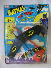 1977 DC Comic BATMAN Bat Plane Launcher vintage 70s AHI unused toy superhero gun