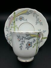 Vintage Art Deco China Cup and Saucer Set Cartwright & Edwards,Victoria England