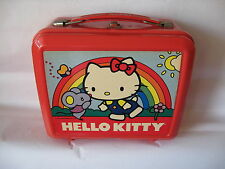 Sanrio Hello Kitty Lunch Box w/Thermox Aladdin Vintage Used '76,  '84