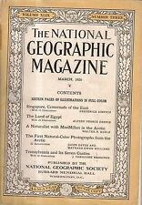1926 National Geographic March - Transylvania's 7 castles;Egypt;Singapore;Arctic