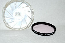 Hoya 52 mm Skylight (1B) Screw-In Filter with Case Made in Japan (N-115)