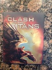 Clash of the Titans (Blu-ray, Steelbook, 2013) Authentic US Release Scratch Free