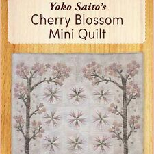Yoko Saito's Cherry Blossom Mini Quilt: Applique Templates Plus Instructions
