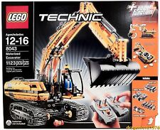Lego Technic 8043 Motorized Excavator Retired Rare Model