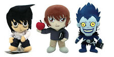 Brand New Set of 3 Great Eastern Death Note - L/ Light Yagami/ Ryuk Plushes