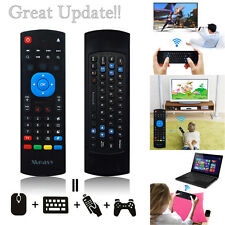 2.4G Mini Wireless Remote Control Keyboard Air Mouse with Infrared Learning