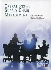 New-Operations and Supply Chain Management by F. Robert Jacobs 14 ed -INTL ED
