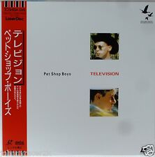 PET SHOP BOYS Laserdisc Television JAPAN LD OBI