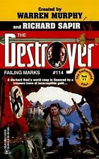 Failing Marks  (Destroyer # 114) - Richard Sapir, Warren Murphy (PB)