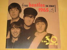 THE BEATLES IN ITALY 1965 it was 30 years ago 16 PAGES commemorative booklet