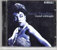 (GM447) Sarah Vaughan, Round Midnight  - 1999 CD