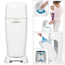 Playtex Baby Diaper Genie Complete Pail With Odor Lock Technology Dump Trash Can