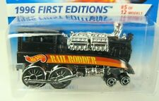 Hot Wheels Rail Rodder Train 1996 First Editions #370  Combine Shipping