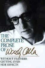 Complete Prose of Woody Allen, Woody Allen, 0517072297, Book, Acceptable
