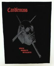 CANDLEMASS BACKPATCH / SPEED-THRASH-BLACK-DEATH METAL