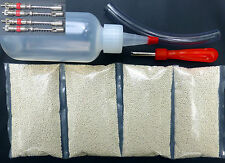 Tire Balancing Beads - 4 bags of 8 oz (32 total) + FREE Applicator Kit + 4 cores