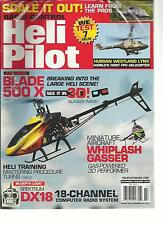RADIO CONTROL HELI PILOT, DECEMBER / JANUARY, 2013 (BREAKING INTO THE LARGE HELI
