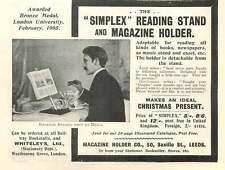 1905 Magazine Holder Company Saville Street, Leeds Simplex Vintage Ad