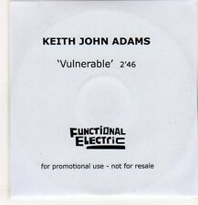 (EP221) Keith John Adams, Vulnerable - 2013 DJ CD