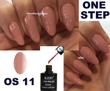 BLUESKY ONE STEP NAIL GEL POLISH UV LED SOAK OFF 10ML , NO TOP OR BASE REQUIRED