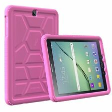 For Samsung Galaxy Tab S2 9.7 Turtle Skin ShockProof Bumper Silicone Case