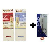 Kerasal 2 in 1 Nail Toe & Anti Fungal Treatment Cream, 15 ml + Free Nail Scissor