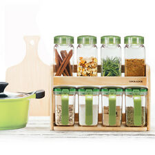 8ea Lock & n Lock Seasoning spices Container Storage Cruet Set Gift Box BPA FREE