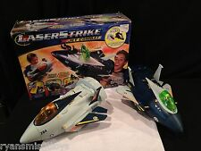 LASERSTRIKE JET COMBAT GAME- vivid tech- K'NEX- flight simulation RARE- C@@L