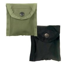 Nylon Compass Pouch with Belt Clip - Black 408