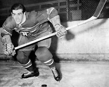 Montreal Canadiens MAURICE 'ROCKET' RICHARD Glossy 8x10 Photo Hockey Print
