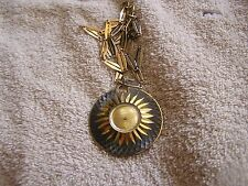 Vintage Continental Pendant Watch with Chain