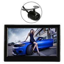 "5""Car Wireless Rear View Monitor TFT LCD Display Stand Reverse+ Mini Camera PU6V"