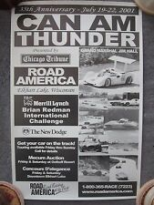 CAN-AM - Vintage Road America - Jim Hall Poster