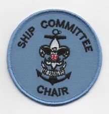 "Sea Scout Ship Committee Chair Position (New Design), 3"" Round, ""Since1910"" Back"