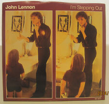 "John Lennon ""I'm Stepping Out"" 1984 Polydor 45rpm w/ PS NM"