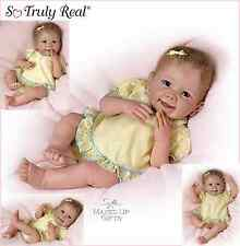 Ashton Drake Baby Doll 'Tummy Tickles'  interactive coos, giggles,