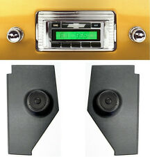 1947-1953 Chevy Truck  Radio & Kick Panels w/ Speakers AUX Cable Stereo 230