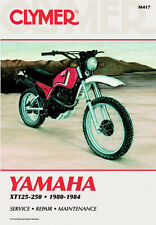 Clymer Repair Service Shop Manual Vintage Yamaha XT125/200 82-83 XT250 80-84