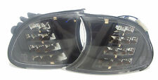BMW 3 Series E46 Coupe Cabrio 1998-01 Black Smoked LED Front Indicators