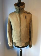 Superdry MOODY BOMBER QUILTED LITE Waxed Cotton Jacket Men's S