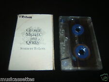 GEORGE MICHAEL AND QUEEN SOMEBODY TO LOVE AUSTRALIAN CASSETTE TAPE