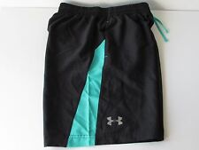 Under Armour Launch Men's Black/Green Fitted Workout Running Shorts, size S