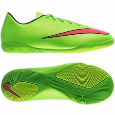 Nike Jr Mercurial Victory V IC Soccer Shoes Sz 1.5Y NEW 651639 360 ElectricGreen