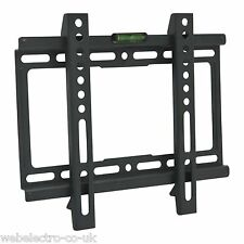 "39691 LCD LED Plasma Flat Slim TV PC Monitor Wall Mount Bracket 17""-37"" VESA 200"