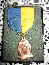 Medal Ramona Copper in Plastic Box Vintage #1440